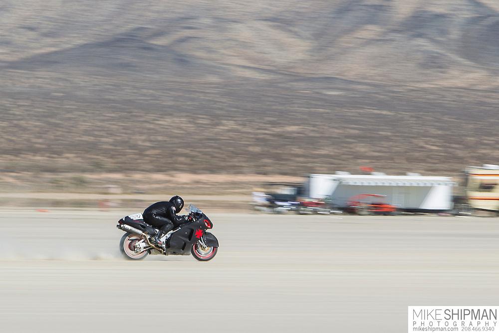 Hayabusa-Shooting Star, 2232B, eng 1350CC, body APS-G, driver Nick Gomez, 179.404 mph, record 205.891