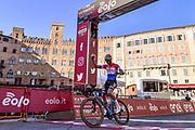 Foto Gian Mattia D'Alberto - LaPresse<br /> 06 Marzo 2021 Siena (Italia)<br /> Sport Ciclismo<br /> 15a Strade Bianche Eolo 2021 - Gara uomini - da Siena a Siena - 184 km (114,3 miglia)<br /> Nella foto: Mathieu van der Poel (Alpecin-Fenix), vincitore della gara<br /> <br /> Photo Gian Mattia D'Alberto - LaPresse<br /> March, 06 2021 Siena (Italy) <br /> Sport Cycling<br /> 15th Strade Bianche 2021 - Men's race - from Siena to Siena - 184 km (114,3 miles)<br /> In the pic: Mathieu van der Poel (Alpecin-Fenix), winner of the race