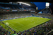 Qwest Field is a multi-purpose stadium in Seattle, Washington, United States. It serves as the home field for the Seattle Seahawks of the National Football League (NFL) and Seattle Sounders FC of Major League Soccer (MLS).