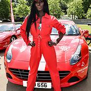 Charrlotte De'Davis attend Cash & Rocket Photocall at Wellington Arch, on 6 June 2019, London, UK