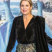 NLD/Amsterdam/20191028 - Koninklijk bezoek Premiere Galapagos, Koningin Maxima