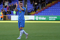 FA Cup fixture between Stockport County and Corby Town at Edgeley Park on 6 October 2018 / James Gill Media