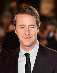 Edward Norton attending the European premiere of Collateral Beauty, held at the Vue Leicester Square, London. PRESS ASSOCIATION Photo. Picture date: Monday 15th December, 2016. See PA Story SHOWBIZ Beauty. Photo credit should read: Ian West/PA Wire