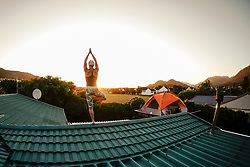 Yoga and balance with Movalign, Fish Hoek, Western Cape, South Africa, RSA
