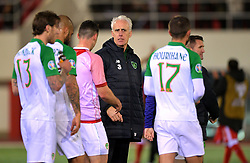 Republic of Ireland manager Mick McCarthy after the UEFA Euro 2020 Qualifying, Group D match at the Victoria Stadium, Gibraltar.