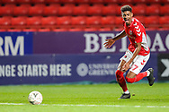 Charlton Athletic forward Recco Hackett-Fairchild (37) during the The FA Cup 2nd round match between Charlton Athletic and Doncaster Rovers at The Valley, London, England on 1 December 2018. Photo by Toyin Oshodi
