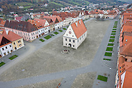 The historic centre of Bardejov, a UNESCO World Heritage Site, Slovakia