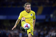 Bristol Rovers midfielder Stuart Sinclair (24) controlling ball during the EFL Cup match between Chelsea and Bristol Rovers at Stamford Bridge, London, England on 23 August 2016. Photo by Matthew Redman.