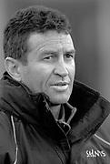Northampton, Northamptonshire, UK, 08.12.2001, Saints new coach, New Zealander (All Black) Wayne Smith, <br />  Northampton Saints vs  London Wasps, Zurich Premiership Rugby, Franklyn Gardens, [Mandatory Credit: Peter Spurrier/Intersport Images]