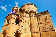 10th century Armenian Orthodox Cathedral of the Holy Cross on Akdamar Island, Lake Van Turkey 75 .<br /> <br /> If you prefer to buy from our ALAMY PHOTO LIBRARY  Collection visit : https://www.alamy.com/portfolio/paul-williams-funkystock/lakevanturkey.html<br /> <br /> Visit our TURKEY PHOTO COLLECTIONS for more photos to download or buy as wall art prints https://funkystock.photoshelter.com/gallery-collection/3f-Pictures-of-Turkey-Turkey-Photos-Images-Fotos/C0000U.hJWkZxAbg