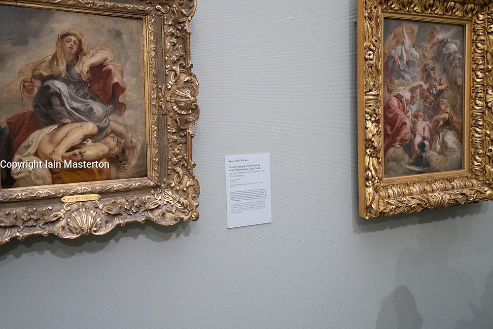 at the Museum Boijmans van Beuningen in Rotterdam The Netherlands
