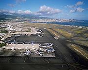 Honolulu International Airport, Honolulu, Hawaii, USA<br />