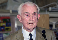 Jim McGarry, former Mayor of Sligo, Rep of Ireland, attendee, Yeats Summer School, Rep of Ireland, 199908021..<br />