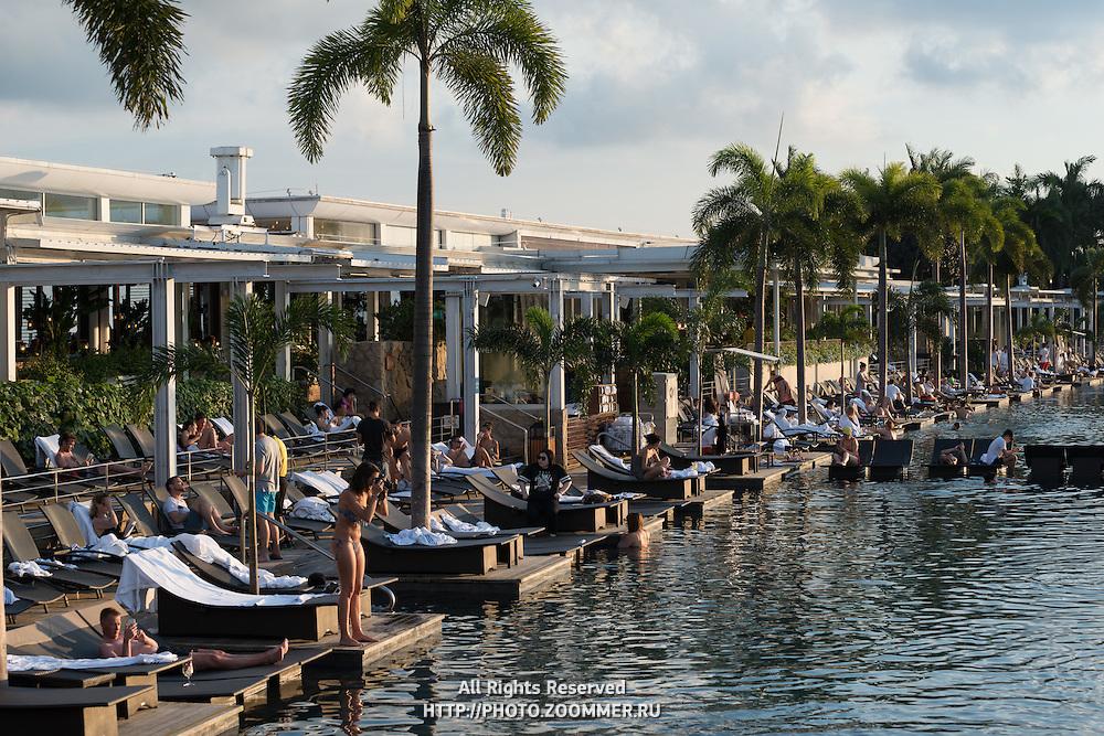 Infinity Pool of Marina Bay Sands hotel, Singapore