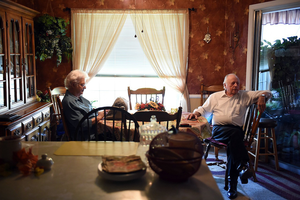 After more than 25 years of retirement, Odessa and Arnold Clark have had ample time to perfect their daily routine.
