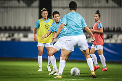 Kristina Erman of Slovenia  during warmup before football match between Slovenia and France in 2nd round of Women's world cup 2023 Qualifying round on 21 of September, 2021 in Mestni stadion Fazanerija, Murska Sobota, Slovenia. Photo by Blaž Weindorfer / Sportida