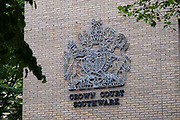 Crown Court Southwark on 2nd July 2020 in London, United Kingdom. The Crown Court at Southwark, commonly known as the Southwark Crown Court, is one of three Crown Courts in the London SE1 postcode area, and is home to many high profile court cases.