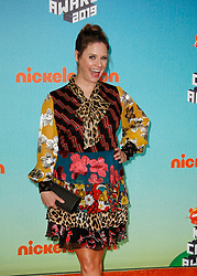 March 23, 2019 - Los Angeles, CA, USA - LOS ANGELES, CA - MARCH 23: Andrea Barber attends Nickelodeon's 2019 Kids' Choice Awards at Galen Center on March 23, 2019 in Los Angeles, California. Photo: CraSH for imageSPACE (Credit Image: © Imagespace via ZUMA Wire)