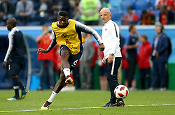France's Paul Pogba during warm-up