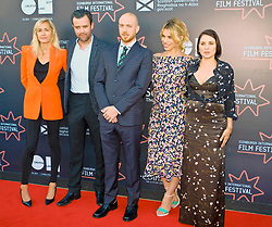 Edinburgh International Film Festival, Saturday, 23rd June 2018<br /> <br /> 'TWO FOR JOY' World Premiere<br /> <br /> Pictured:  Producer Emma Comley, Daniel Mays, Director Tom Beard, Billie Piper and Sadie Frost<br /> <br /> (c) Alex Todd | Edinburgh Elite media