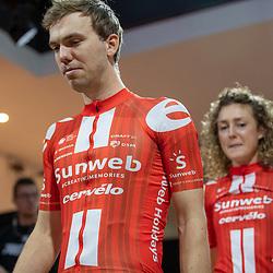 10-12-2019: Wielrennen: Teampresentatie Sunweb: Amsterdam<br />Joris Nieuwenhuis