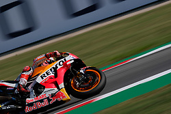 September 7, 2018 - Misano Adriatico, Ialy, Italy - 93 MARC MARQUEZ from Spain, HRC Repsol Honda Team, Honda RC213V, Gran Premio Octo di San Marino e della Riviera di Rimini, during the Friday FP1 at the Marco Simoncelli World Circuit for the 13th round of MotoGP World Championship, from September 7th to 9th - Photo by Felice Monteleone - NurPhoto  (Credit Image: © Felice Monteleone/NurPhoto/ZUMA Press)