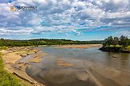 The Niobrara River near Meadville, Nebraska, USA