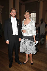 COUNT DIMITRI TOLSTOY-MILOSLAVSKY and EMILY GARNETT at the 13th annual Russian Summer Ball held at the Banqueting House, Whitehall, London on 14th June 2008.<br /><br />NON EXCLUSIVE - WORLD RIGHTS