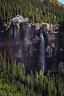 Bridal Veil Falls, Telluride, tallest free falling falls in Colorado, 365 feet