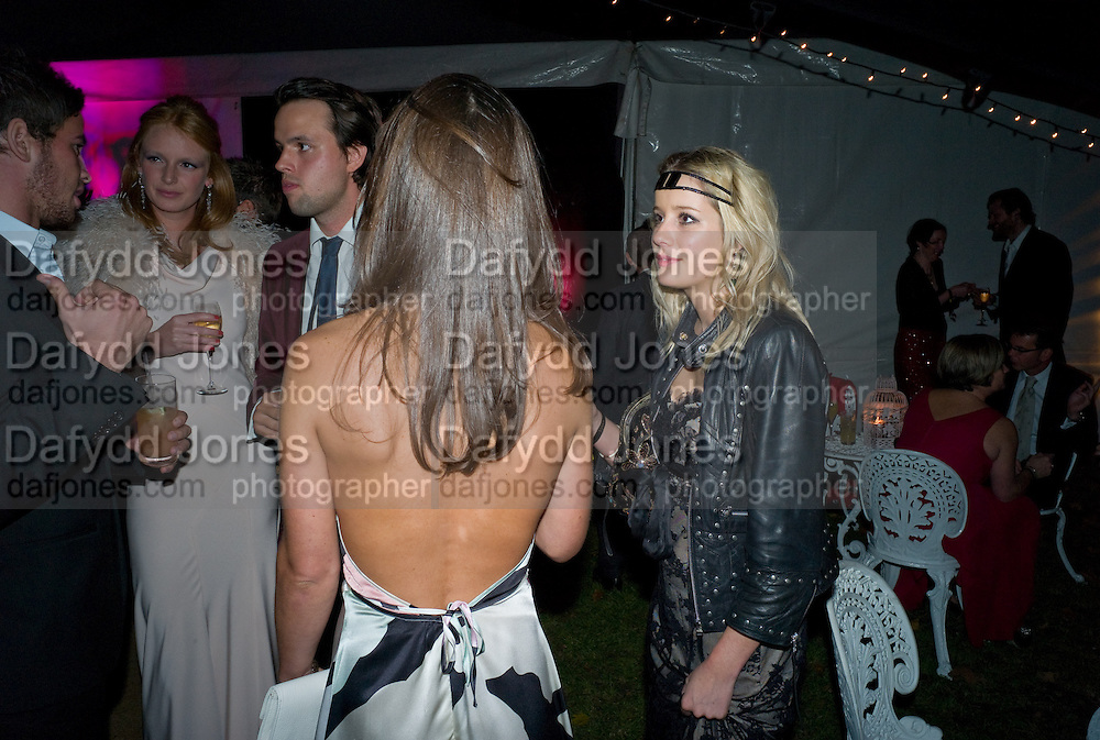 OLIVIA INGE;PIPPA MIDDLETON; EMMA BLACKSHAW, End Of Summer Ball In Berkeley Square. In aid of Prince;s Trust. Berkeley Square, London. 25 September 2008 *** Local Caption *** -DO NOT ARCHIVE-© Copyright Photograph by Dafydd Jones. 248 Clapham Rd. London SW9 0PZ. Tel 0207 820 0771. www.dafjones.com.