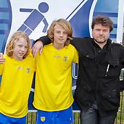 NLD/Blaricum/20120314 - Perspresentatie Koen Kampioen met als gastrol Luca Borsato, .., Luca Borsato, ..