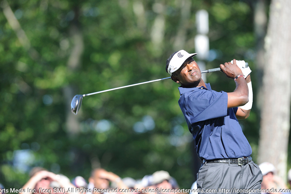 01 Sep 2008:  final round of the Deutsche Bank Championship  at the TPC Boston in Norton, MA.