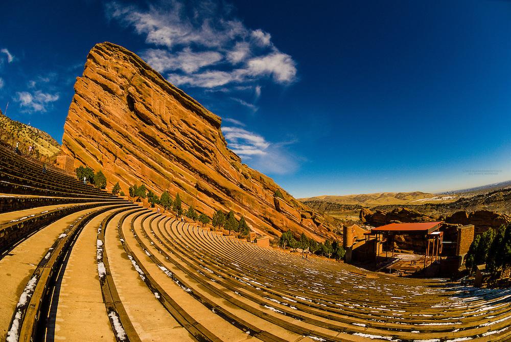 Red Rocks Amphitheatre, Red Rocks Park, Morrison, Colorado USA