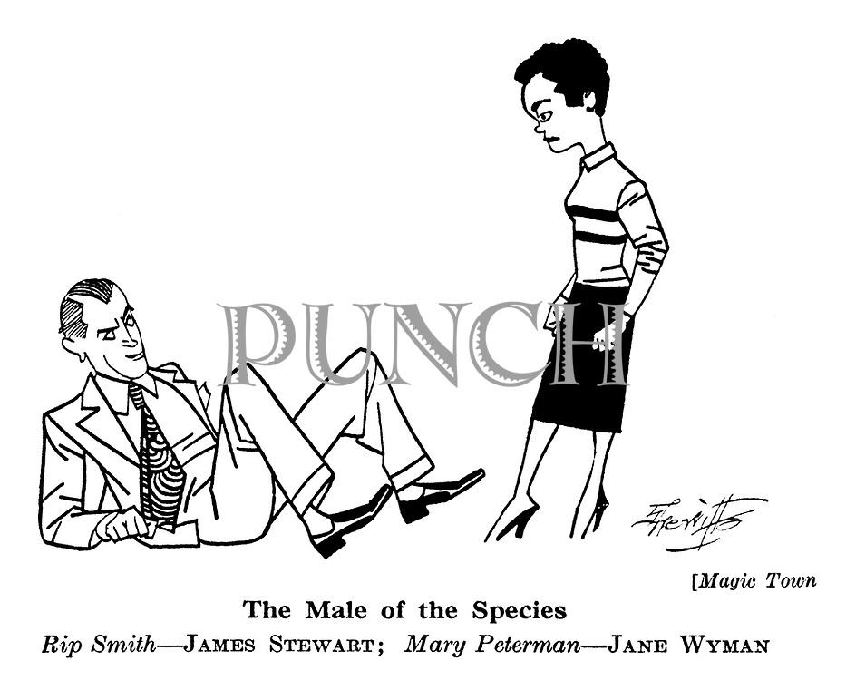 Magic Town ; James Stewart and Jane Wyman