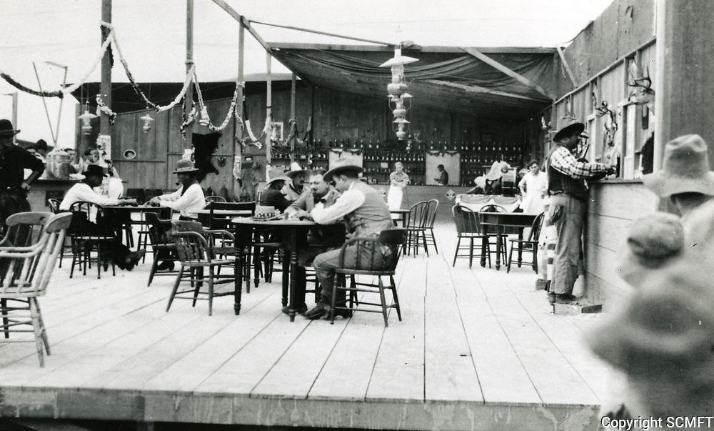1915 Movie making at American Film Co., Santa Barbara, CA