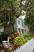 Audubon House & Tropical Gardens. A museum dedicated to the naturalist John James Audubon. Key West, Florida, USA