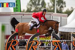 Morssinkhof Simon, BEL, Vivolta De Gree<br /> European Jumping Championship Children<br /> Zuidwolde 2019<br /> © Hippo Foto - Dirk Caremans<br /> Morssinkhof Simon, BEL, Vivolta De Gree