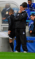 Photo: Leigh Quinnell.<br /> Queens Park Rangers v Cardiff City. Coca Cola Championship. 18/08/2007. QPR manager John Gregory not happy with his side.
