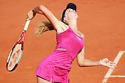 Roland Garros. Paris, France. June 4th 2006..Nicole Vaidisova against Amelie Mauresmo.