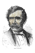 Portrait of Dr. Livingstone From the book ' David Livingstone ' by Brice, A. H. M. (Arthur Hallam Montefiore), 1859-1927 Published by United Brethren Pub. House, Dayton, Ohio in 1880