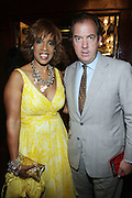 14 June 2010- Harlem, New York- l to r: Gayle King and President and CEO of Hennessey, USA, Mark Cornell at The Apollo Theater's 2010 Spring Benefit and Awards Ceremony hosted by Jamie Foxx inducting Aretha Frankilin and Michael Jackson, and honoring Jennifer Lopez and Marc Anthony co- sponsored by Moet et Chandon which was held at the Apollo Theater on June 14, 2010 in Harlem, NYC. Photo Credit: Terrence Jennngs/Sipa