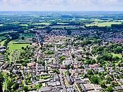 Nederland, Gelderland, GemeenteBronckhorst, 21–06-2020; Vorden, dorpsgezicht met de dorpskerk.<br /> <br /> luchtfoto (toeslag op standaard tarieven);<br /> aerial photo (additional fee required)<br /> copyright © 2020 foto/photo Siebe Swart