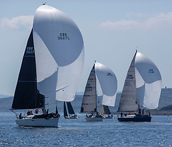 Day 3 Scottish Series, SAILING, Scotland.<br /> <br /> IRC Class 2 with  Animal, First 36.7, 3627L, CCC/RNCYC <br /> <br /> The Scottish Series, hosted by the Clyde Cruising Club is an annual series of races for sailing yachts held each spring. Normally held in Loch Fyne the event moved to three Clyde locations due to current restrictions. <br /> <br /> Light winds did not deter the racing taking place at East Patch, Inverkip and off Largs over the bank holiday weekend 28-30 May. <br /> <br /> Image Credit : Marc Turner / CCC