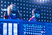 Justice performs at The Congress Theatre in Chicago, IL on October 24, 2012