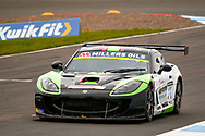 Darron Lewis(GBR) Team HARD during the Millers Oil Ginetta GT4 Supercup Championship at Knockhill Racing Circuit, Dunfermline, Scotland on 15 September 2019.