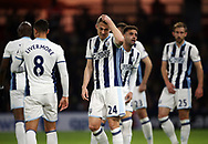 WBA's Darren Fletcher looks on dejected during the Premier League match at Vicarage Road Stadium, London. Picture date: April 4th, 2017. Pic credit should read: David Klein/Sportimage
