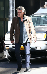 October 5, 2016 - New York, New York, United States - Actor Ray Liotta on the downtown Manhattan set of the TV show 'Shades of Blue' on october 5 2016 in New York City  (Credit Image: © Zelig Shaul/Ace Pictures via ZUMA Press)