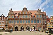 Gdańsk, 2008-06-22. Zielona Brama w Gdańsku.