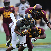 ORLANDO, FL - JANUARY 01: Bud Sasser #21 of the Missouri Tigers  catches a pass during the Buffalo Wild Wings Citrus Bowl against the Minnesota Golden Gophers at the Florida Citrus Bowl on January 1, 2015 in Orlando, Florida. (Photo by Alex Menendez/Getty Images) *** Local Caption *** Bud Sasser