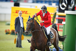 Da Rios Daniele Augusto, (ITA), For Passion<br /> Team completion and 2nd individual qualifier<br /> FEI European Championships - Aachen 2015<br /> © Hippo Foto - Dirk Caremans<br /> 20/08/15